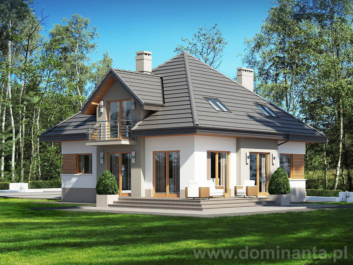 Projekt Domu Opałek Ii N Projekty Domów Dominanta