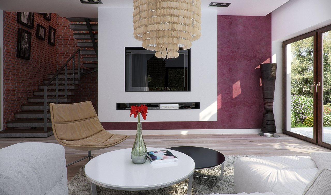 Projekt Domu Opałek Ii N 2g Projekty Domów Dominanta
