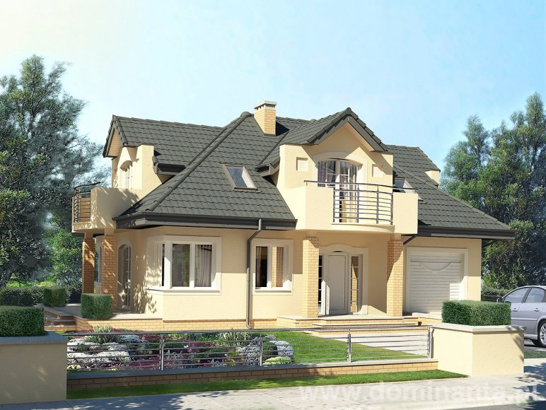 Projekt domu Goblin