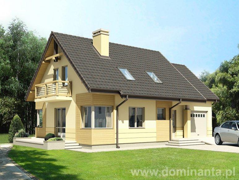 Projekty domów, projekt Guliwer